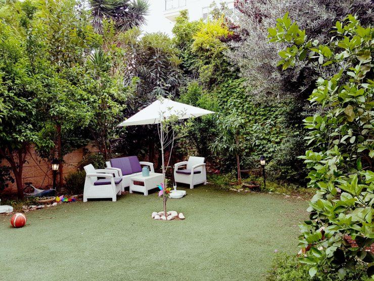 For sale, 6 room garden apartment in Hashvatim (North Buchman) in Modiin.
