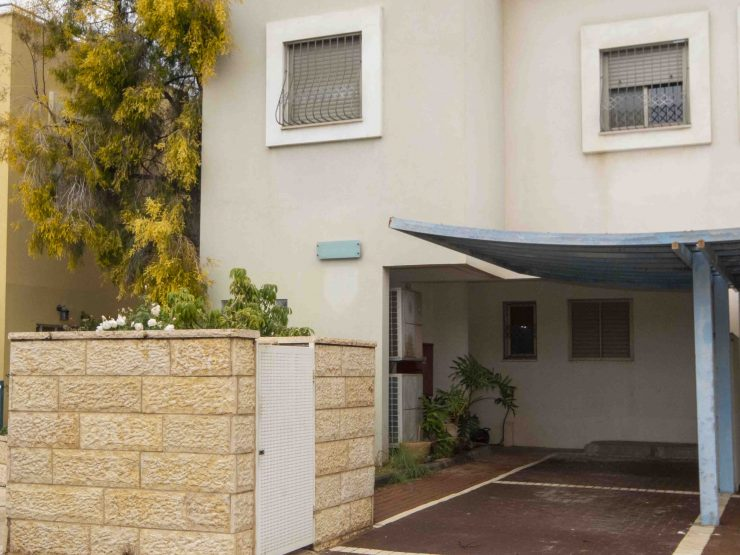 For Sale – 6.5 room cottage in Yael Hagibora Street, Moriah (South Buchman).