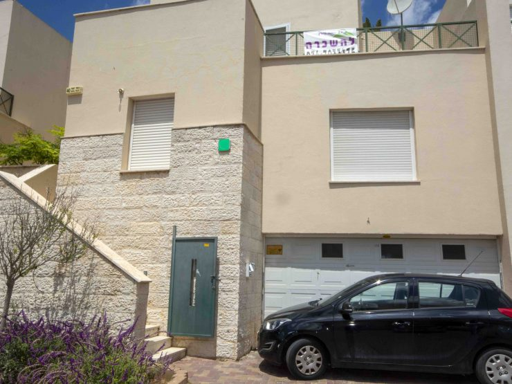 To Rent – 6 room cottage in Nahal Yagur, Mesuah (Givat C), Modiin
